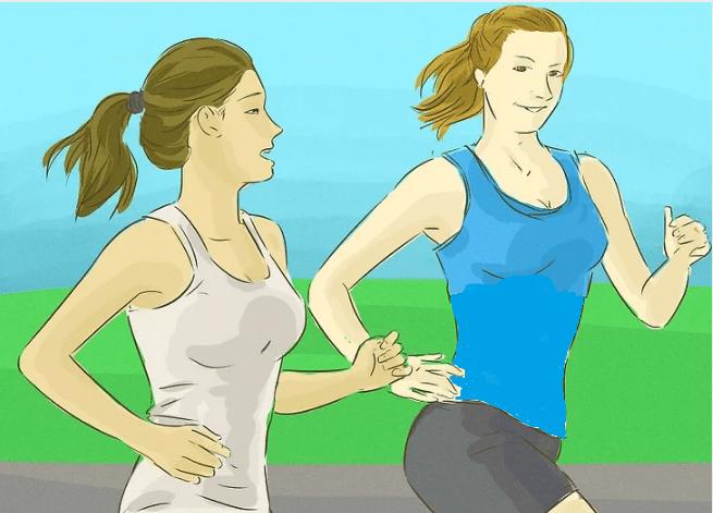 تنفس هنگام دویدن