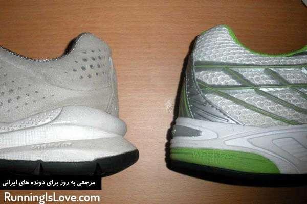 تفاوت بین کفش های دویدن و کفش های پیاده روی