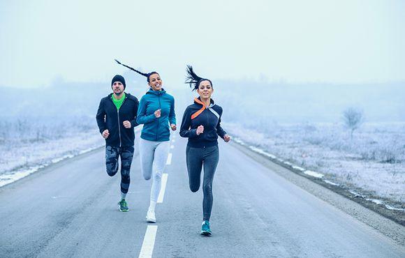 پوشش مناسب برای دویدن در هوای سرد