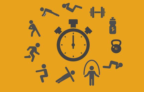 تمرینات دایرهای برای دوندهها